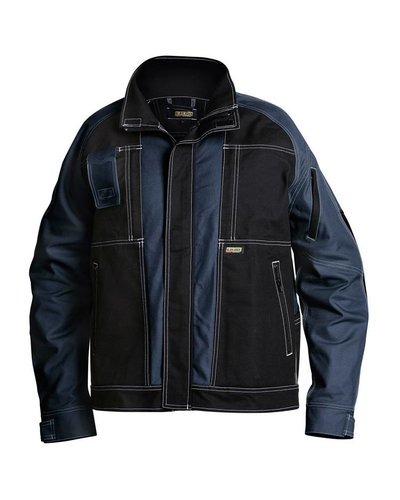 Blaklader Voorgewassen ongevoerde jas met witte stickels