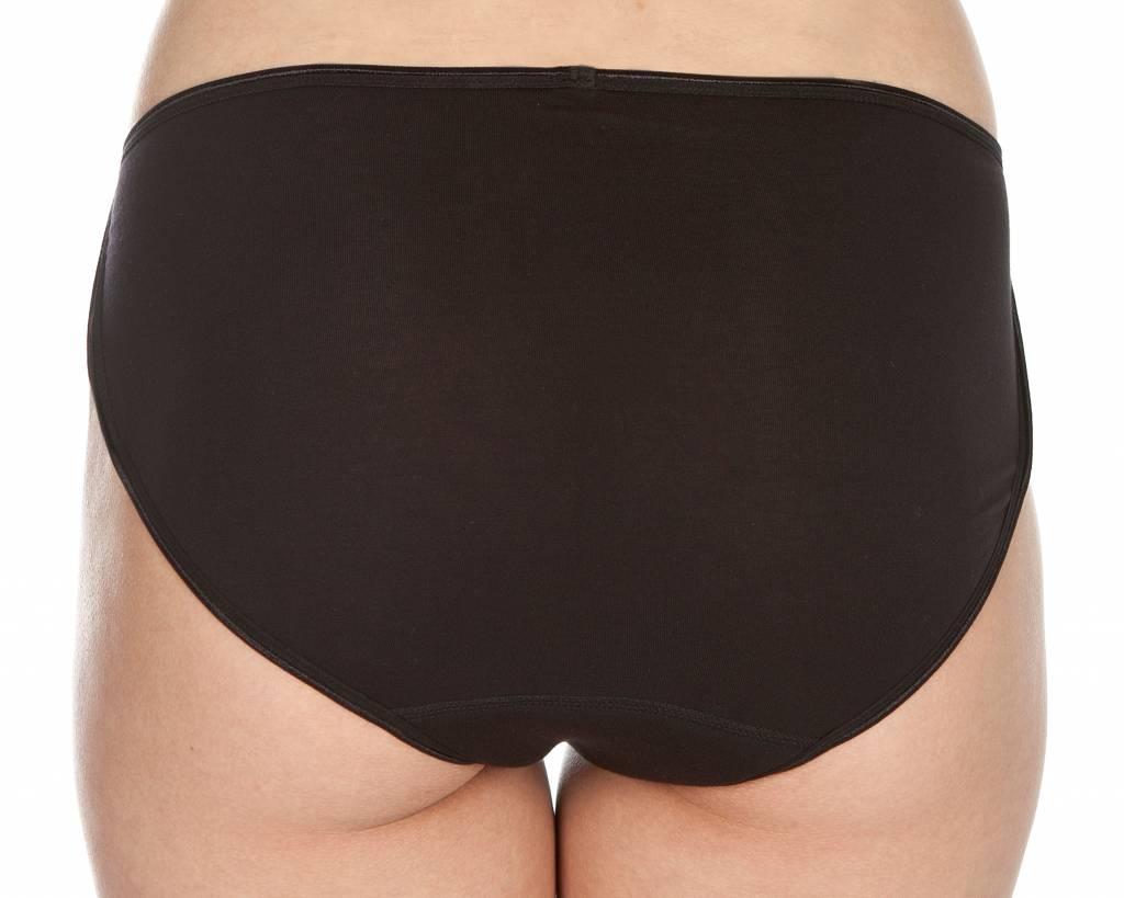 Swaens Bamboo Underwear Midi Black