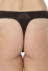 Swaens Bamboo Underwear String Schwarz
