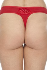Swaens Bamboo Underwear String Red