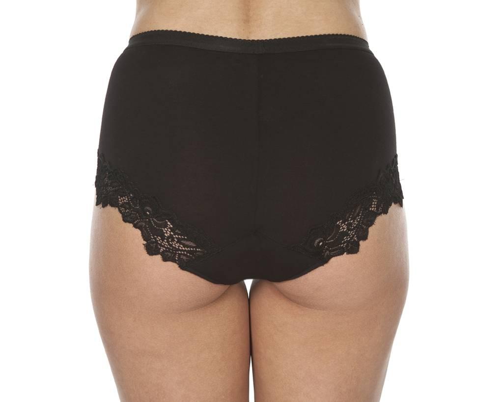 Swaens Bamboo Underwear Taille Schwarz