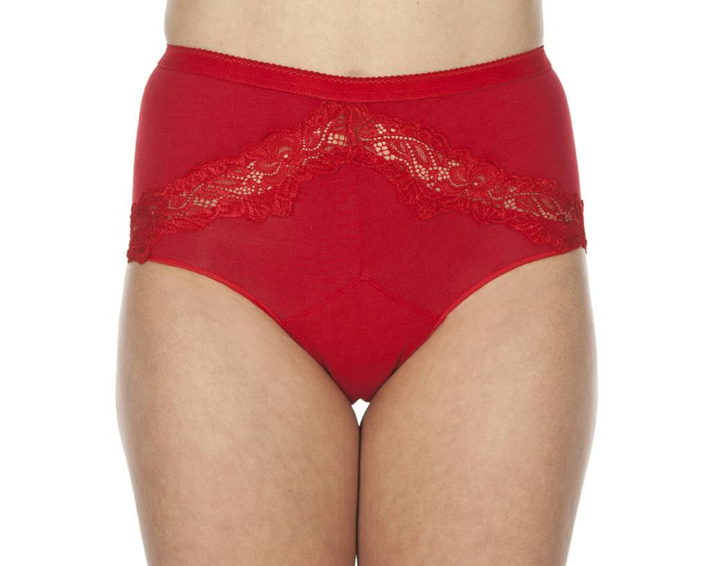 Swaens Bamboo Underwear Taille Rood