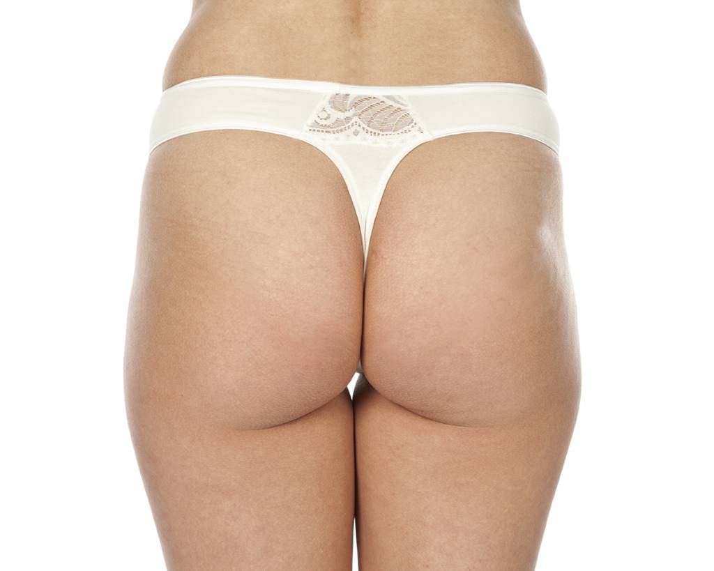 Swaens Bamboo Underwear String Ivory - set of 2