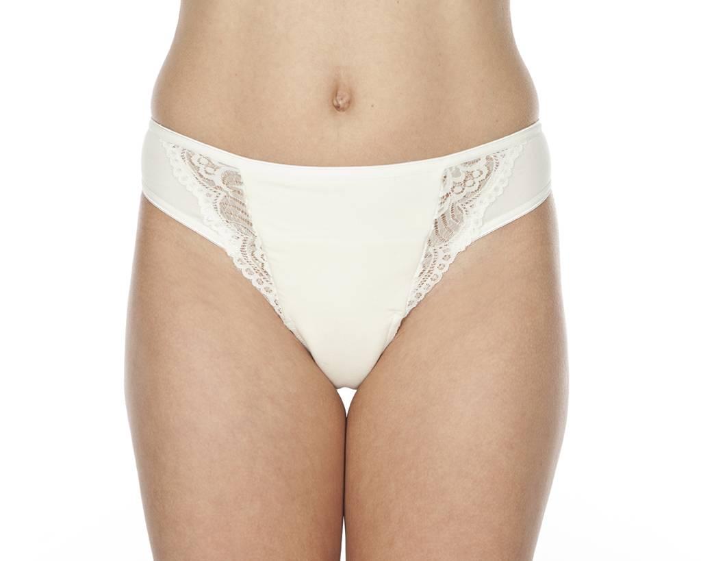 Swaens Bamboo Underwear String Ivoor - set van 2