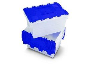 Firma-Gezels Wasbox wit en blauw