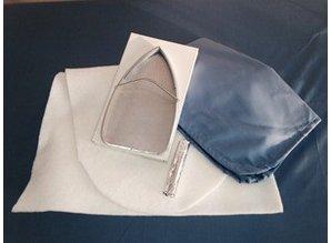 CO.M.E.L. Opfrisset ovale strijktafel - BR