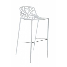 Trendy Designs Barkruk Cast Magnolia Wit
