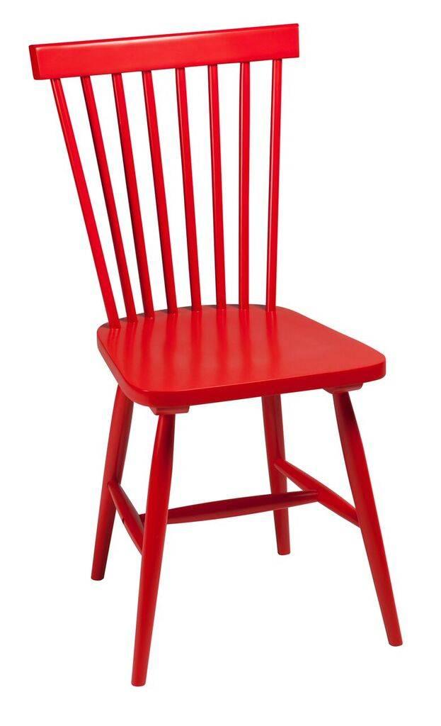 Dan Form Dan-Form stoel Agnes rood