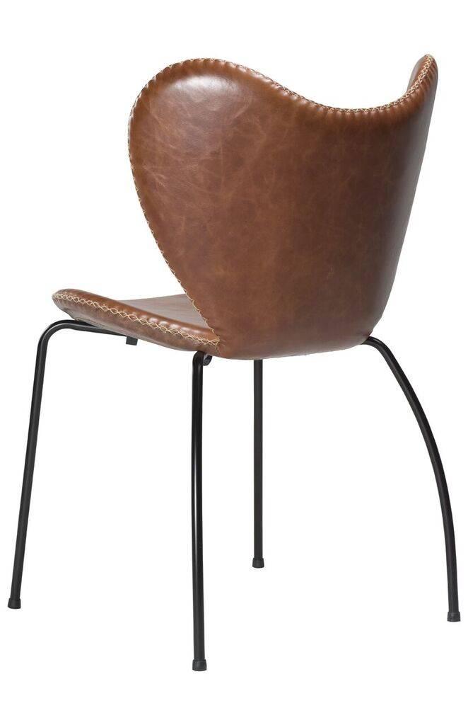Dan Form Dan-Form stoel Butterfly Lichtbruin/Zwart