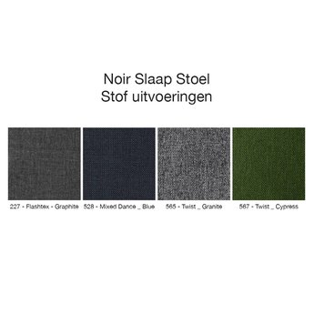 Innovation Living Noir Slaap Stoel Granite