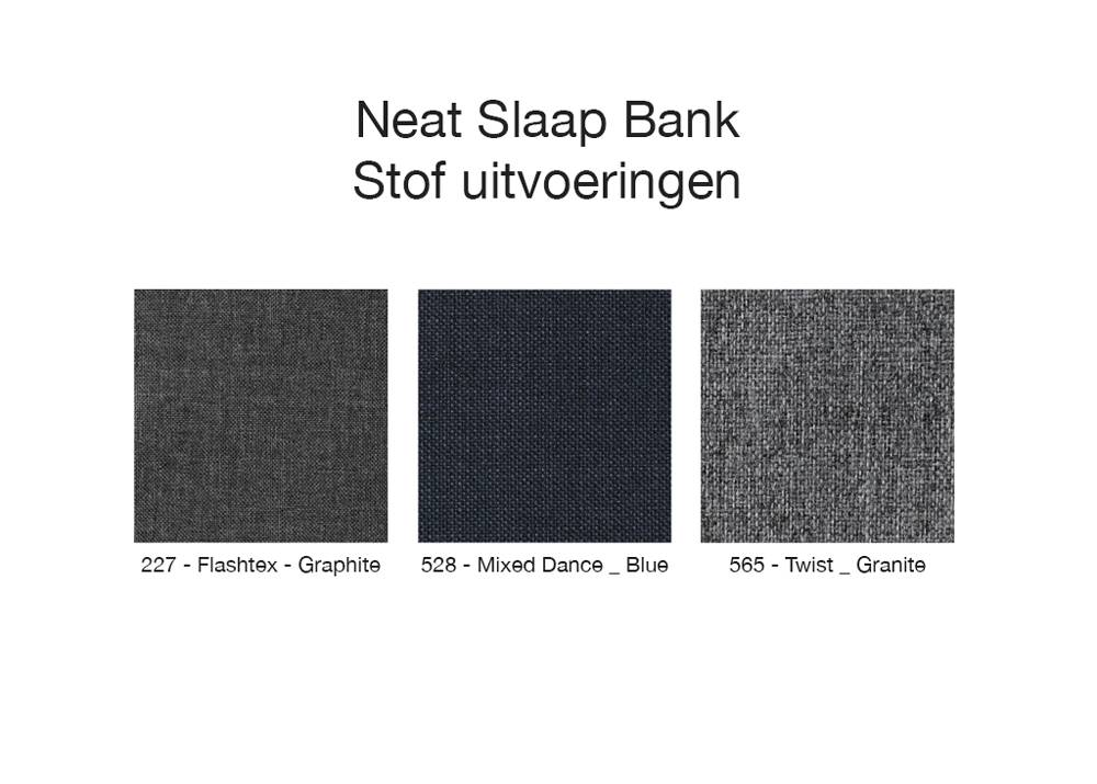 Innovation Living Neat Slaap Bank 140 cm Granite