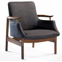 Dan Form Loungestoel Tycho grijs
