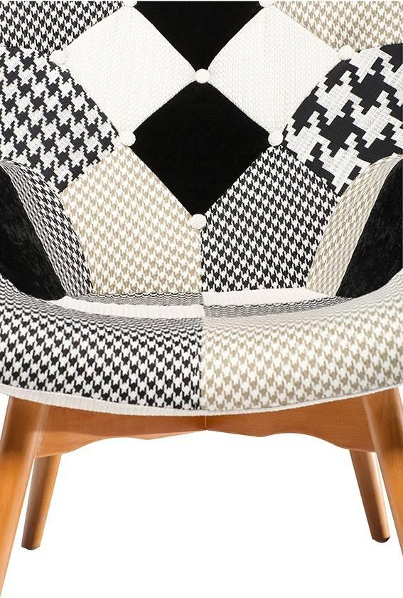 Dan Form Loungestoel Patch grijs