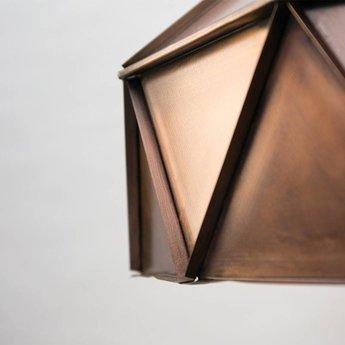 Label 51 Hanglamp Trangle Antiek Koper