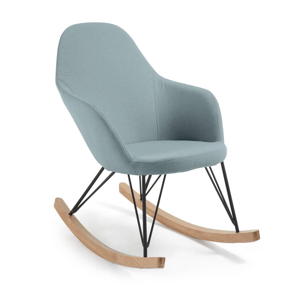 LaForma Travers schommelstoel Blauw