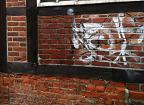 Graffitientfernung Probefläche