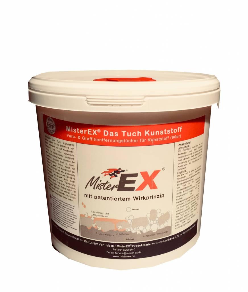 MisterEX MisterEX  Das Tuch Graffitientfernungstücher Kunststoff 90