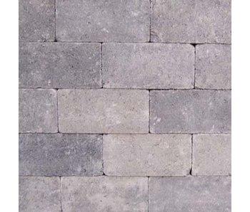 KF Rechteckpflaster Grau/Schwarz Antik 21x10,5x7 cm