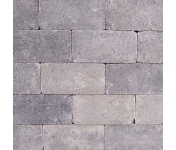 Rechteckpflaster Grau/Schwarz Antik 21x10,5x7 cm