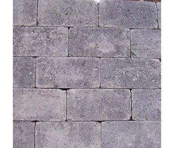 Rechteckpflaster Anthrazit Antik 21x10,5x7 cm
