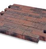 Dickformat Rot/Schwarz mit Fase 21x7x7 cm