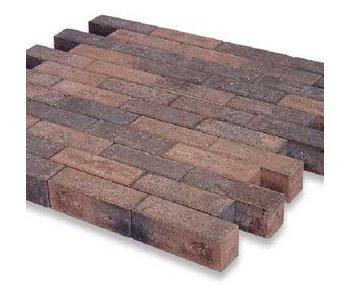 Dickformat Braun/Schwarz mit Fase 21x7x7 cm