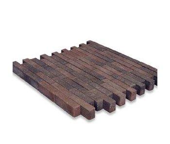 Waalformat Braun/Schwarz mit Fase 20x5x7