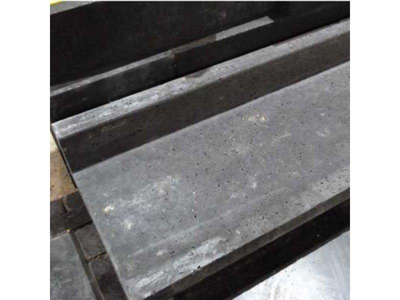 Schellevis blockstufe (l) Anthrazit 100x40x15