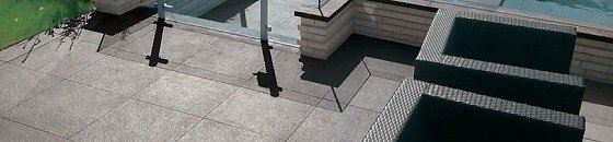 Keramische Terrassenplatten