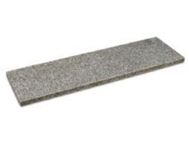 Basalt Teichrand poliert