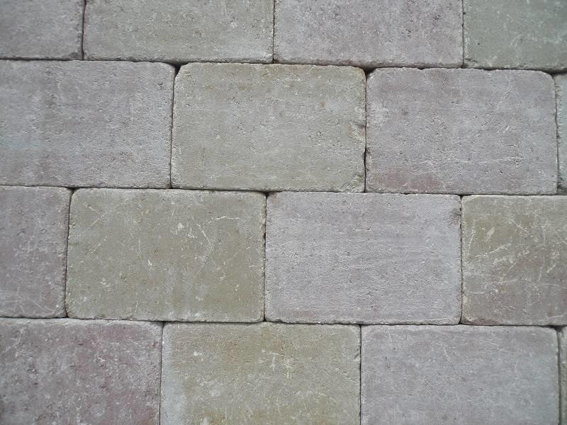 Altstadtpflaster Antik Terra-Gelb 20x30x6 cm
