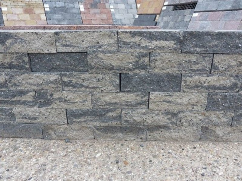 mauerstein grau schwarz 2seitig gebrochen 30x20x10 emmerich naturstein. Black Bedroom Furniture Sets. Home Design Ideas