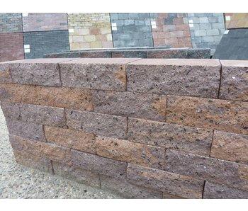 Mauerstein malagutti 2seitig gebrochen 30x20x10