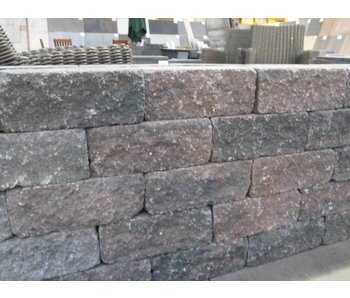 Wallblock Tumbled Bronze 30x12x12