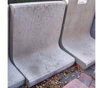 L Steine Grau 30x50x7 cm