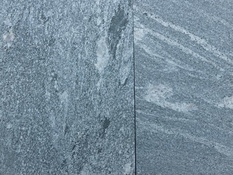 Granit Gneis - geflammt/gebürstet 60x60x3