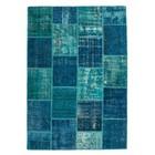 DF0062012-7 Turquoise Vloerkleed