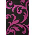 DF0062012-273 Noir / Violet Tapis