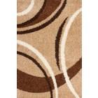 DF0062012-300 Bruin Vloerkleed