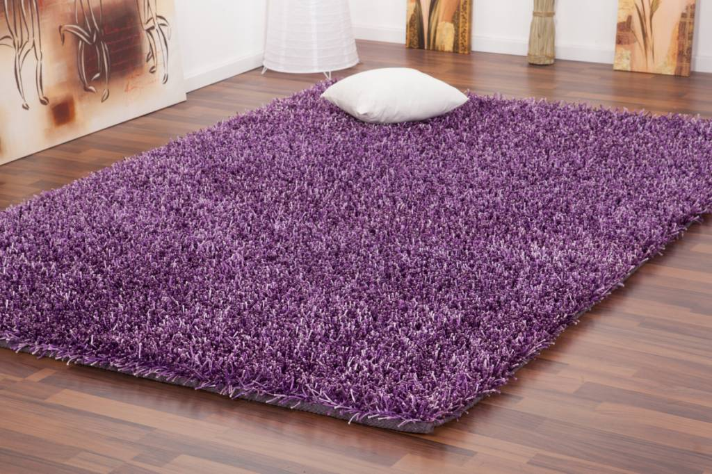 Df0062012 339 paars vloerkleed d f for Tapis chambre fille violet