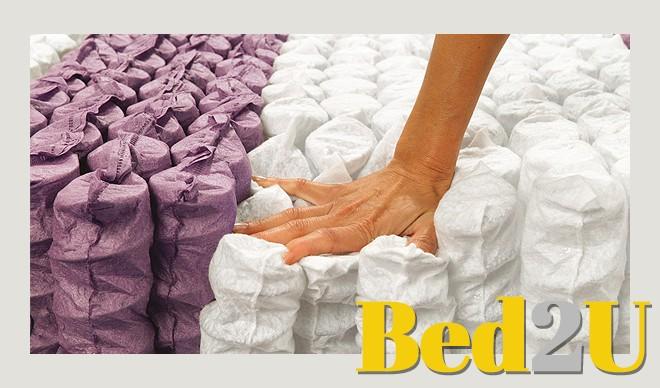 mattress 80 x 200. bed2u 80 x 200 top quality 7 zone pocket spring mattress