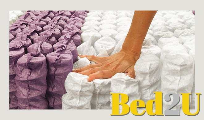 7 Zone Matras : Bed u topkwaliteit zone pocketvering matras d f