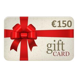 Chèques Cadeau € 150