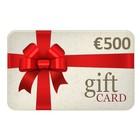 Cadeau Bon € 500