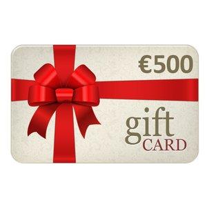 Chèques Cadeau € 500