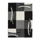 DF0062012-856 Zilver Vloerkleed