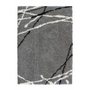 DF0062012-858 Zilver Vloerkleed