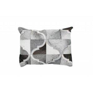 DF0062012-866 de couleur grise Coussin en cuir
