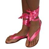 Ribben Sandal pink
