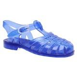 waterschoen blauw doorzichtig kids
